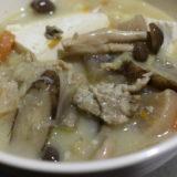 【マッスルグリル】炊飯器でつくる豚汁のレシピを公開&再現【具だくさん】