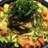 【マッスルグリル】鰹(カツオ)の冷製パスタのレシピを公開&再現